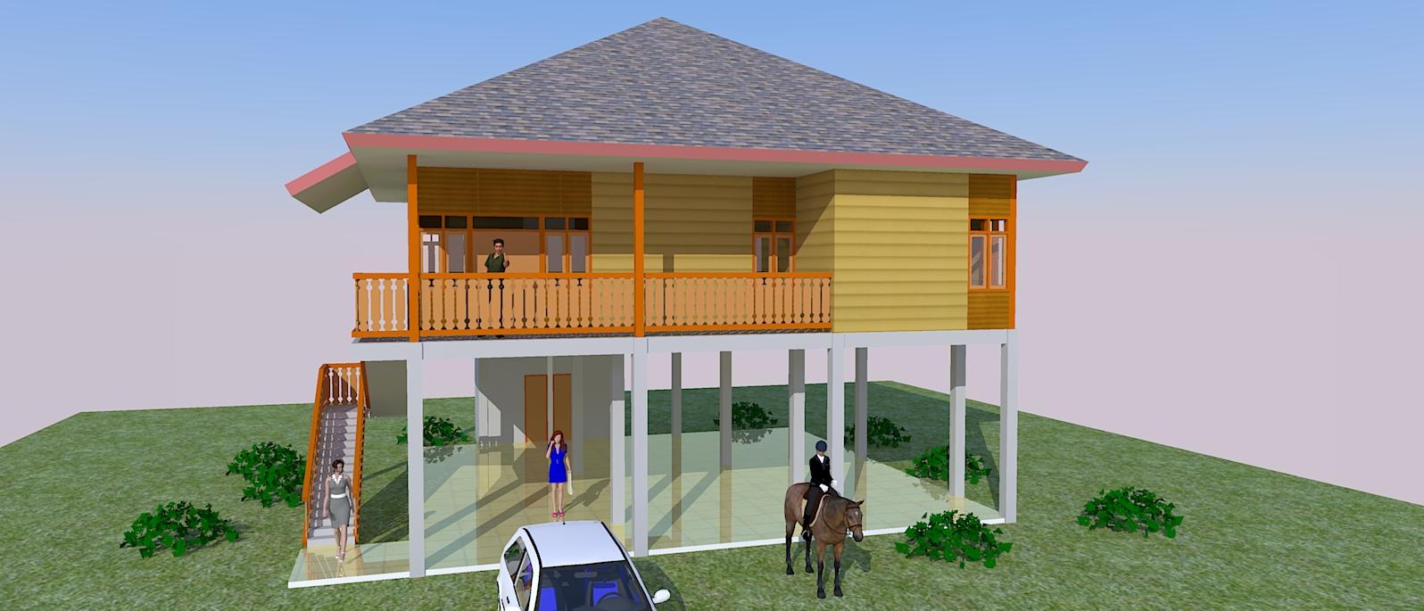 Rumah Kayu Unik Bagaimana Membuat Site Plan Perumahan
